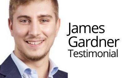 Testimonial from James Gardner