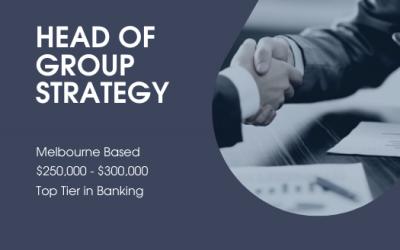 Head of Group Strategy | Jobs Sydney