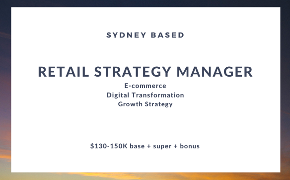 Retail Strategy Manager