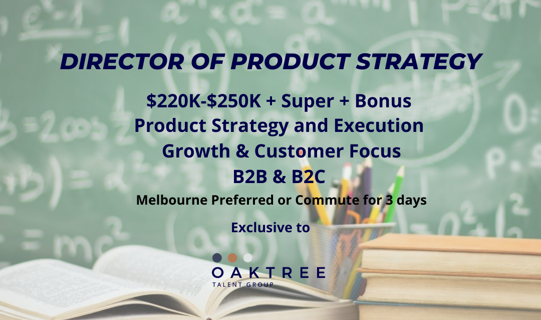 Director of Product Strategy | Jobs Melbourne